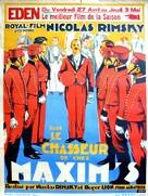 Le chasseur de chez Maxim's - Belgian Movie Poster (xs thumbnail)