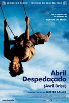 Abril Despedaçado - Belgian Movie Poster (xs thumbnail)
