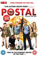 Postal - British DVD movie cover (xs thumbnail)