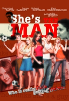 She's The Man - Malaysian DVD movie cover (xs thumbnail)