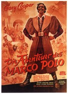The Adventures of Marco Polo - German Movie Poster (xs thumbnail)