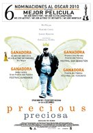 Precious: Based on the Novel Push by Sapphire - Chilean Movie Poster (xs thumbnail)