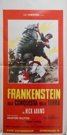 Furankenshutain tai chitei kaijû Baragon - Italian Movie Poster (xs thumbnail)