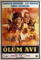 Death Hunt - Turkish Movie Poster (xs thumbnail)