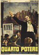 Citizen Kane - Italian Movie Poster (xs thumbnail)