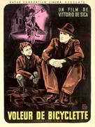 Ladri di biciclette - French Movie Poster (xs thumbnail)
