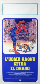 Spider-Man: The Dragon's Challenge - Italian Movie Poster (xs thumbnail)