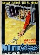 The Moonlighter - Italian Movie Poster (xs thumbnail)