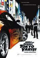 The Fast and the Furious: Tokyo Drift - Turkish Movie Poster (xs thumbnail)