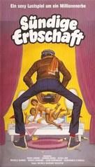 Giovani, belle... probabilmente ricche - German VHS movie cover (xs thumbnail)