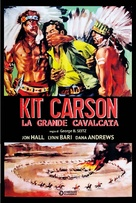 Kit Carson - Italian DVD movie cover (xs thumbnail)