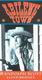 Abilene Town - British VHS movie cover (xs thumbnail)