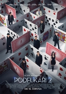 Now You See Me 2 - Czech Movie Poster (xs thumbnail)