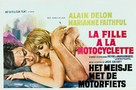 The Girl on a Motocycle - Belgian Movie Poster (xs thumbnail)