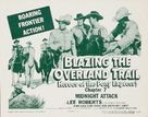 Blazing the Overland Trail - Movie Poster (xs thumbnail)