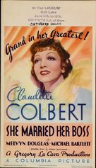 She Married Her Boss - Theatrical poster (xs thumbnail)