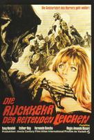 El ataque de los muertos sin ojos - German Movie Poster (xs thumbnail)
