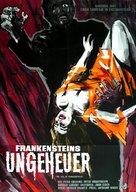 The Evil of Frankenstein - German Movie Poster (xs thumbnail)