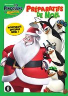 """""""The Penguins of Madagascar"""" - Belgian DVD movie cover (xs thumbnail)"""