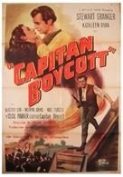 Captain Boycott - Spanish Movie Poster (xs thumbnail)