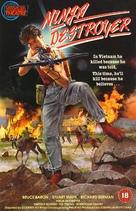 Ninja Destroyer - British Movie Cover (xs thumbnail)