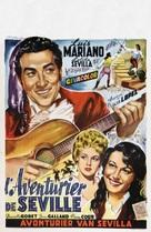 Aventuras del barbero de Sevilla - Belgian Movie Poster (xs thumbnail)
