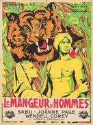 Man-Eater of Kumaon - French Movie Poster (xs thumbnail)