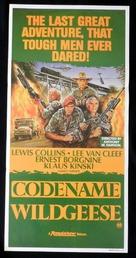 Geheimcode: Wildgänse - Australian Movie Poster (xs thumbnail)