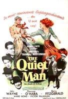 The Quiet Man - Belgian Movie Poster (xs thumbnail)
