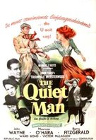 The Quiet Man - Belgian Movie Poster (xs thumbnail)