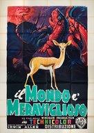 The Animal World - Italian Movie Poster (xs thumbnail)