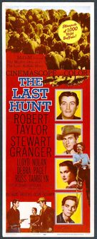 The Last Hunt - Movie Poster (xs thumbnail)