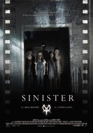 Sinister - Spanish Movie Poster (xs thumbnail)