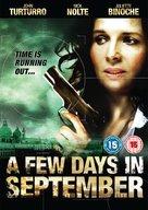 Quelques jours en septembre - British DVD cover (xs thumbnail)