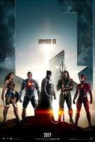 Justice League - Brazilian Movie Poster (xs thumbnail)