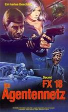 Agent secret FX 18 - German VHS movie cover (xs thumbnail)