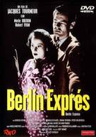 Berlin Express - Spanish DVD movie cover (xs thumbnail)