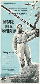 Nur der Wind - German poster (xs thumbnail)