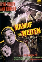 The War of the Worlds - German Movie Poster (xs thumbnail)