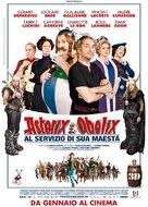 Astérix et Obélix: Au Service de Sa Majesté - Italian Movie Poster (xs thumbnail)