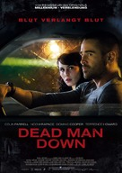 Dead Man Down - German Movie Poster (xs thumbnail)