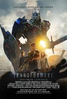 Transformers: Age of Extinction - Latvian Movie Poster (xs thumbnail)