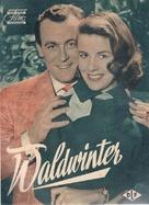 Waldwinter - German poster (xs thumbnail)