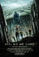 The Maze Runner - Vietnamese Movie Poster (xs thumbnail)