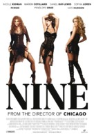 Nine - Swiss Theatrical poster (xs thumbnail)
