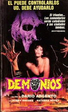 Demoni - Brazilian Movie Cover (xs thumbnail)