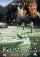 A River Runs Through It - Polish Movie Cover (xs thumbnail)