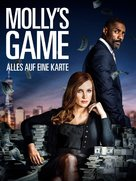 Molly's Game - German Movie Cover (xs thumbnail)