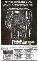 Friday the 13th - poster (xs thumbnail)
