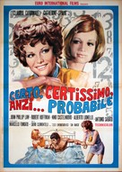 Certo, certissimo, anzi... probabile - Italian Movie Poster (xs thumbnail)